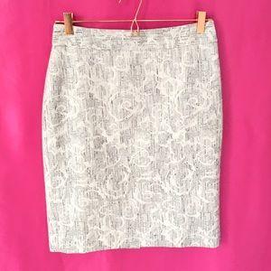 Ann Taylor Flower Skirt